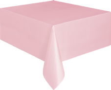 "Pink Rectangular Tablecover 54"" x 108""/ 137cm x 274cm"